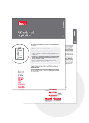 Boult UK Trade Mark Application