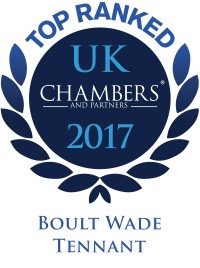 top ranked chambers uk 2017 award